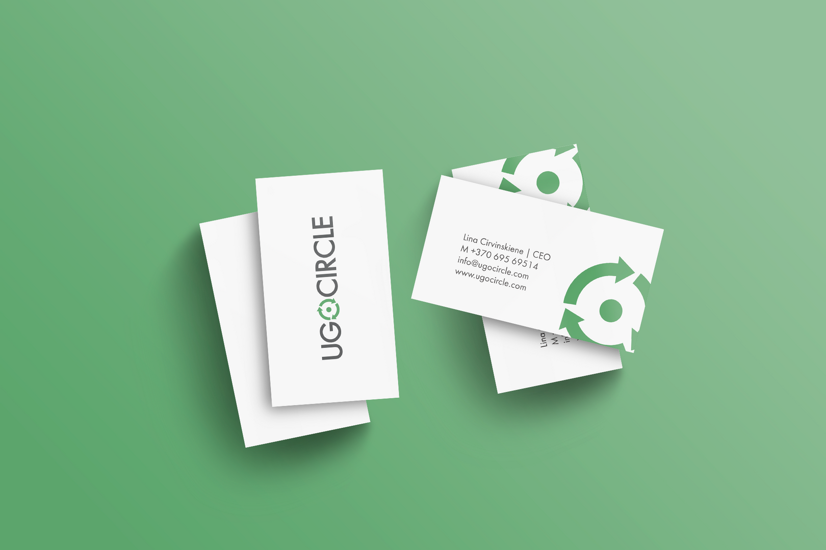 uGoCircle business card