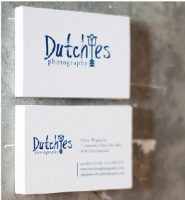 Dutchies Business cards