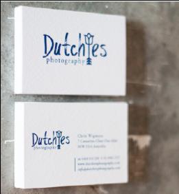 Dutchies Business cards