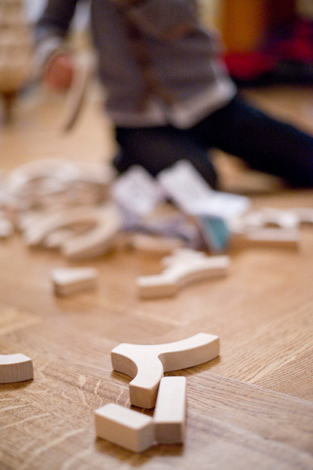 Wooden blocks Upe