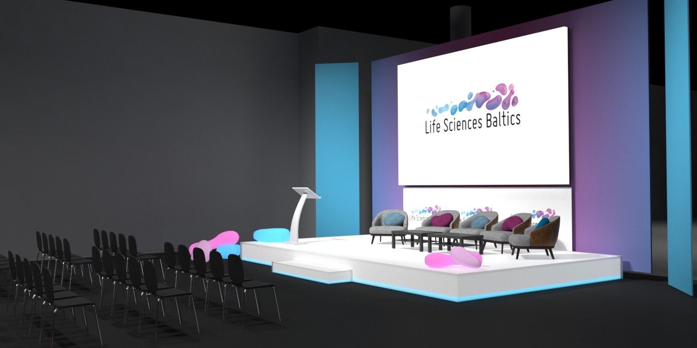 Event space rendering
