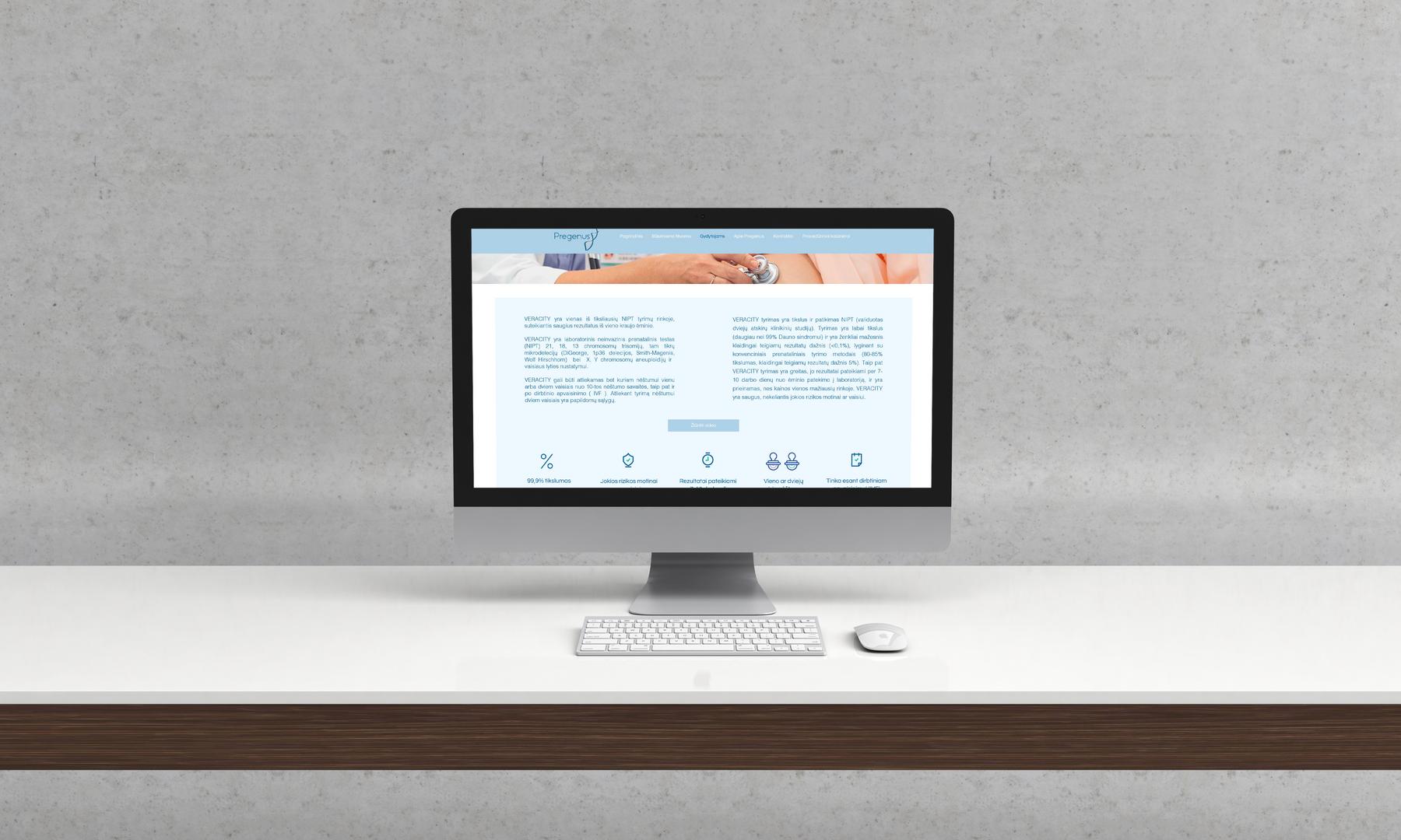 Pregenus website