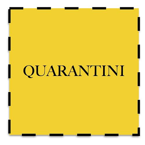 Quarantini - Dry Martini