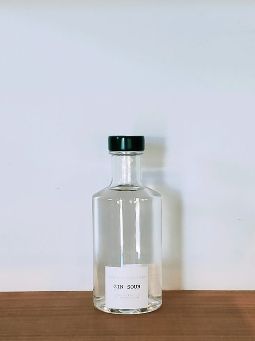 Clarified Gin Sour