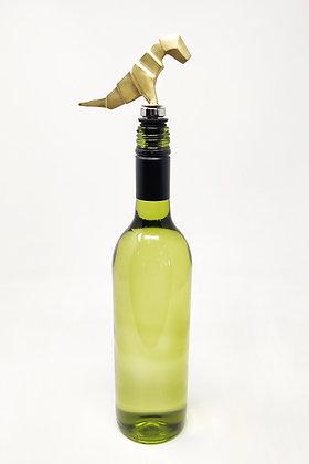 Origami TRex Bottle Stopper