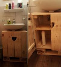 Badzimmermöbel aus Palett