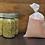 Thumbnail: Large reusable bulk food bag, ripstop nylon