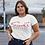 Thumbnail: Classic White SOS Women's Crew T-Shirt