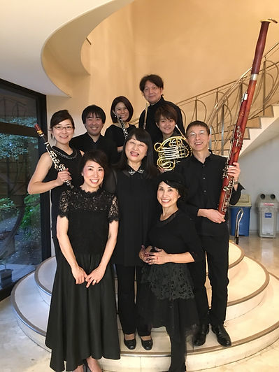 アートムジカと九州交響楽団木管5重奏