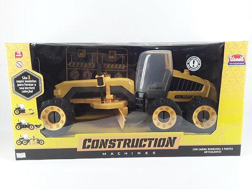 USUAL CONSTRUCTION MACHINES 115PLAINER -TRATOR COM ACESSÓRIOS