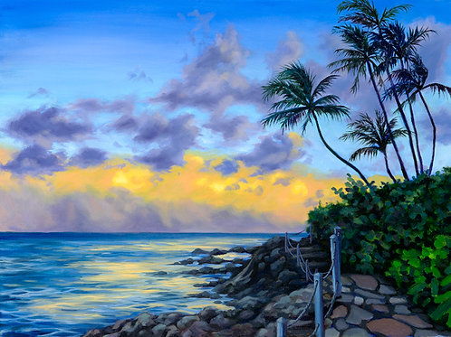Hawaii Sunset - Limited Edition Print