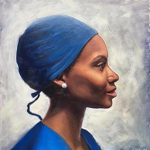 I have enjoyed painting women in uniform