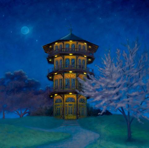 Twilight Pagoda