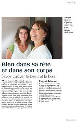 Vivre à Annecy N°1 (Mag du Dauphiné)
