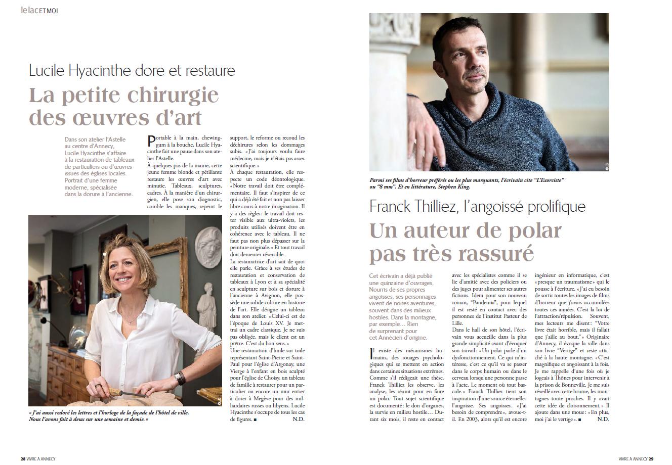 VA2-Lucile Hyacinthe et Franck Thilliez.jpg