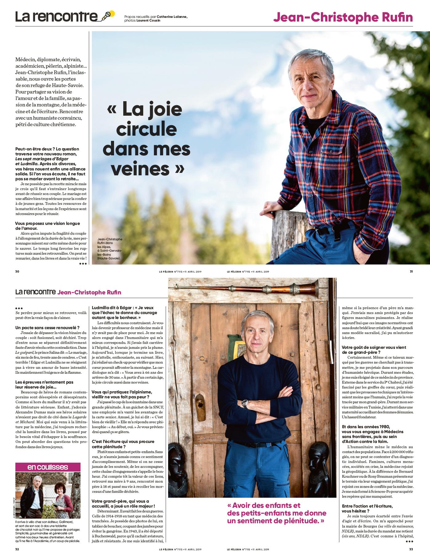 Le Pèlerin Bayard Presse