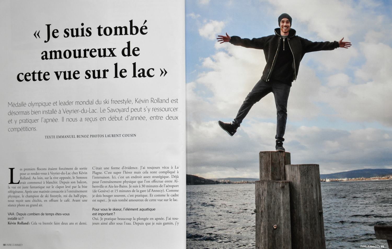 Magazine Vivre à Annecy