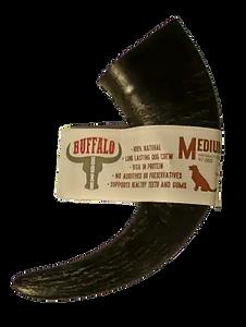 Buffalo-Horn-Med-Transparent-Background-