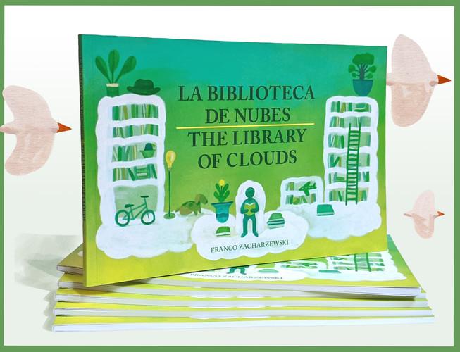 """La biblioteca de nubes   The Library of Clouds"""