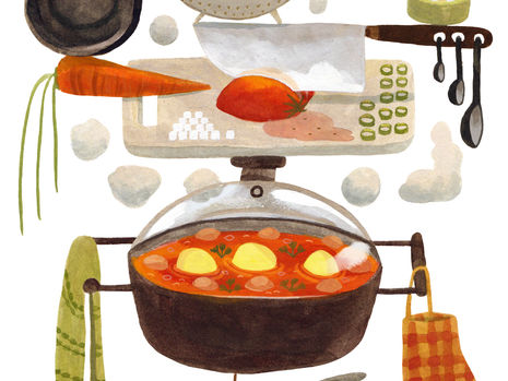 """""""Cooking is the Ultimate Antidote"""""""