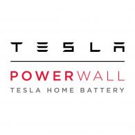 Tesla Powerwall tesla home battery logo.