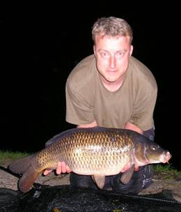 Nick Warne 22lb common carp - GBF