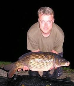 Nick Warne 22lb common carp - GBF