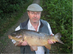 Robert with nice canal mirror