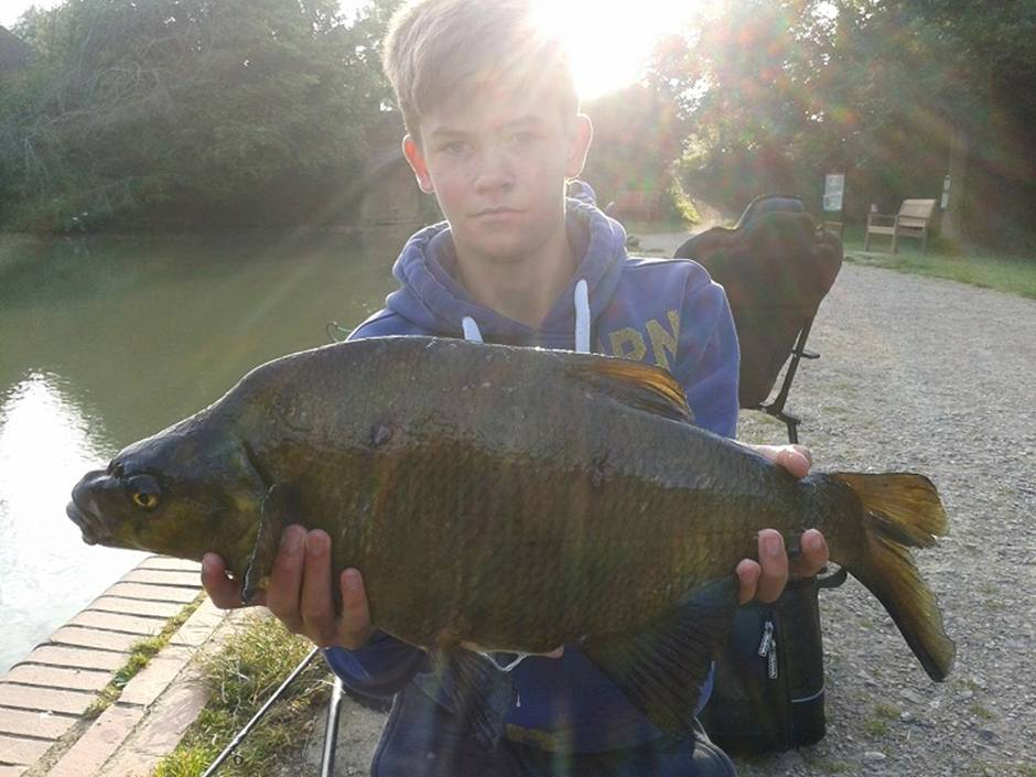 Lewis stagg bream 7lb 1oz odiham