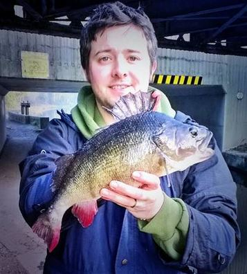 Paul Wheate with another nice perch
