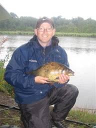 Paul 'Skimmer' Merritt Crucian carp 4lb 9oz