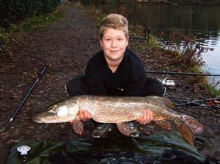 Tom Sayer 14lb pike - GBF