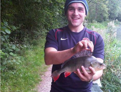 Thomas Foster with nice perch