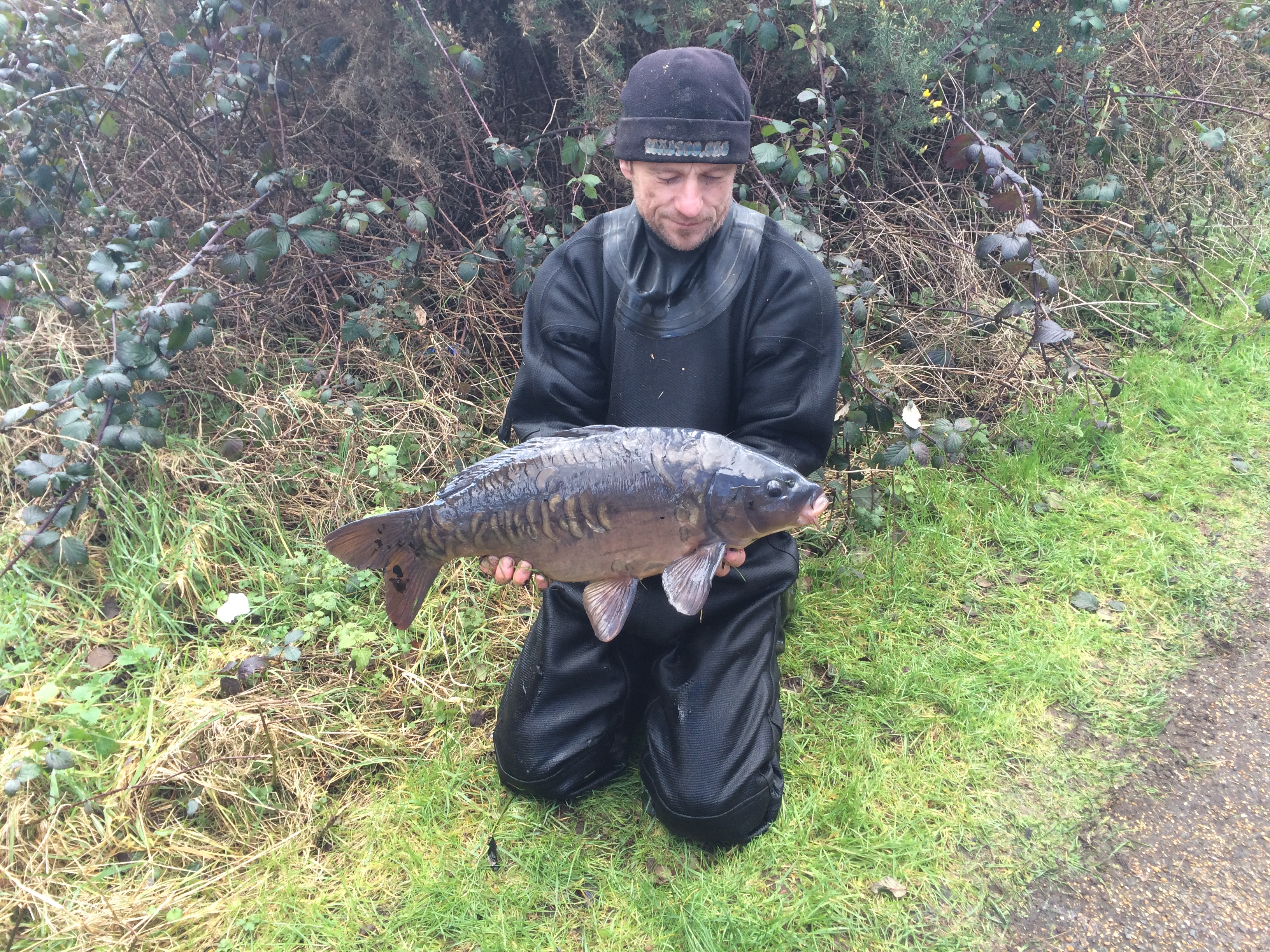 10lb mirror caught during draindown