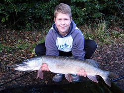 Tom Sayer 13lb pike from GBF