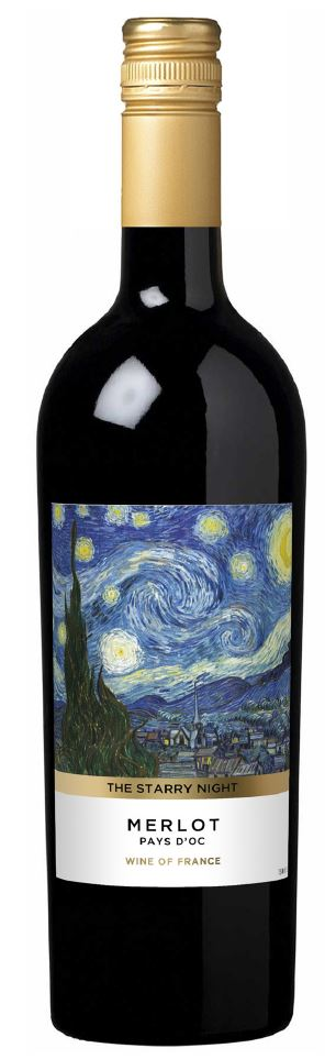 Starry Night Real Bottle