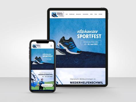 Website Ostschweizer Sportfest