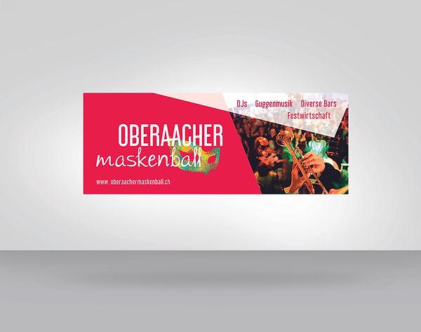 Maskenball Web Banner