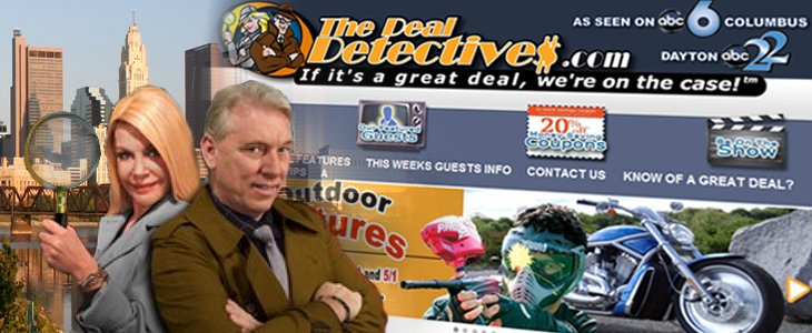 "Visit The Deal Detective's Website Via The Internet Archive's ""WayBack Machine."""