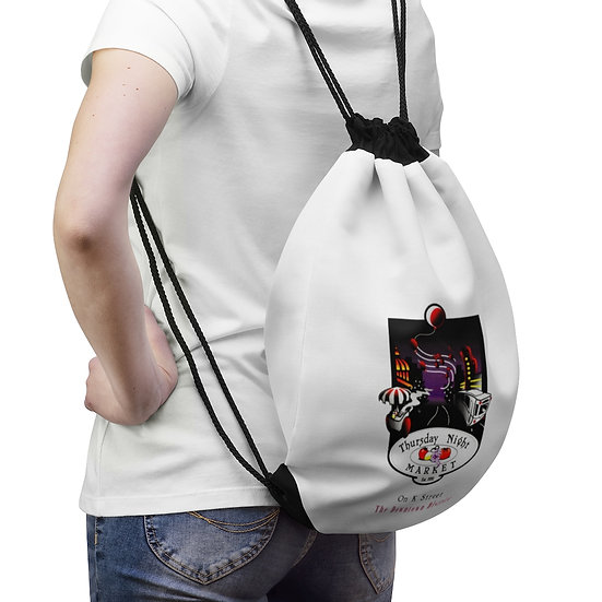 Thursday Night Market ('93) Drawstring Bag