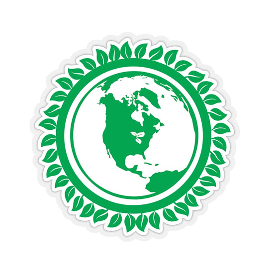 WGRN Globe Stickers