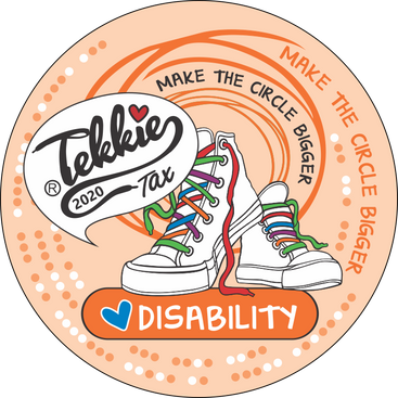 Disability sector badge