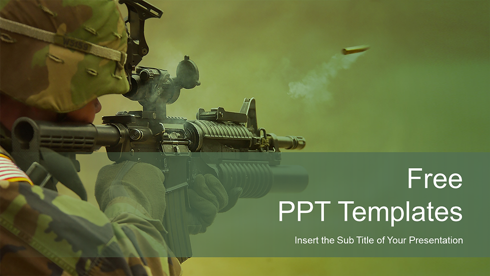 Army PowerPoint Templates