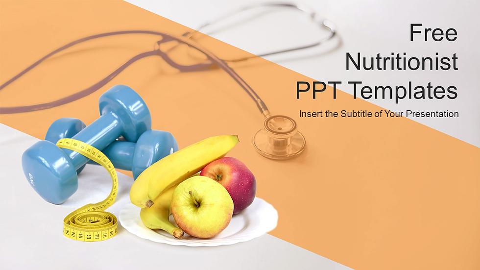 다이어트관련 PPT 템플릿