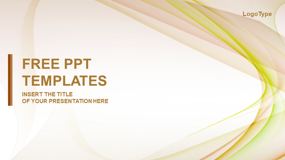 Beautiful Wave PPT Template