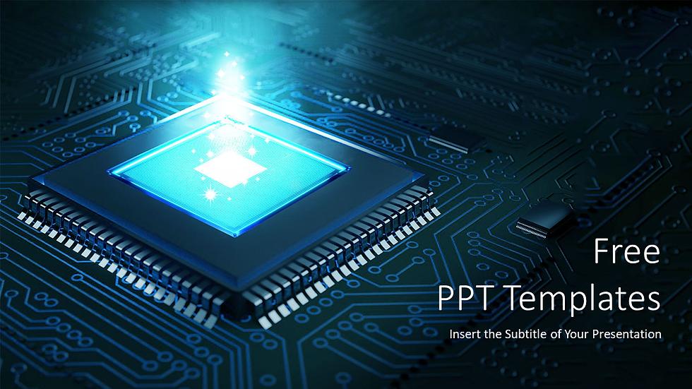 Computer Hardware Tech PPT Templates
