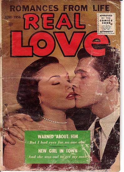 미국빈티지만화책-1956년AceRealLove