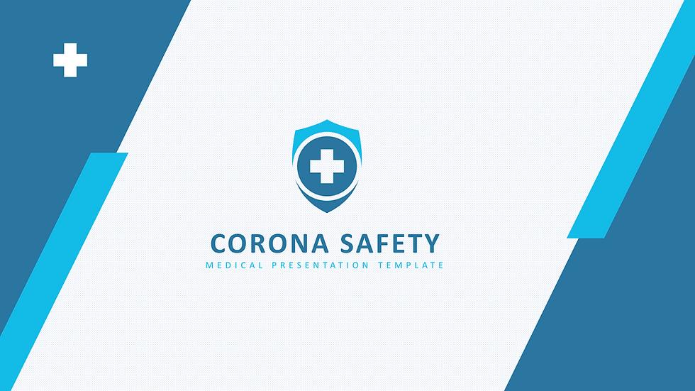 코로나안전예방 PPT템플릿