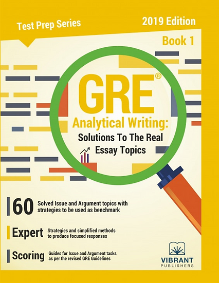 GRE- Analytical Writing