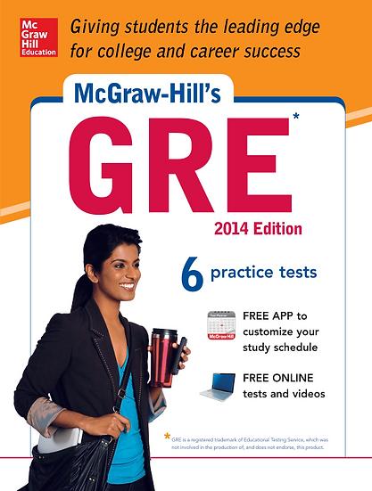 GRE 6 프랙티스 테스트 McGrawHill